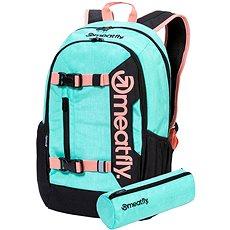 Meatfly Basejumper 6 Backpack, Heather Mint Nejprodávanější