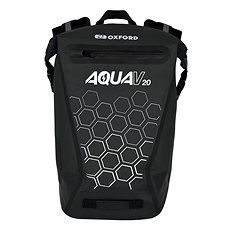 OXFORD Vodotěsný batoh AQUA V20 (černá, objem 20 L)