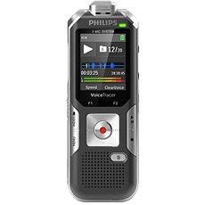 Philips diktafon DVT6010 černo-stříbrný