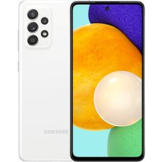 Samsung Galaxy A52 bílá
