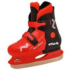 Brusle Sportteam Kids černo-červené