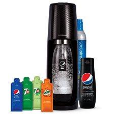 Sodastream Spirit Black Pepsi MegaPack Nejprodávanější