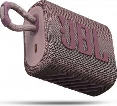 Fotoaparát Bluetooth reproduktor JBL GO 3, růžový - Hvězda srovnání