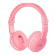 Bezdrátová sluchátka BuddyPhones Play, růžová