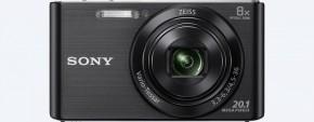Digitální fotoaparát Sony Cybershot DSC-W830, černá