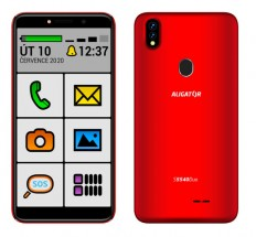 Mobilní telefon Aligator S5540KS 2GB/32GB, Kids+Senior, červená