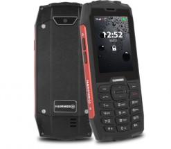 Mobilní telefon Odolný tlačítkový telefon myPhone Hammer 4, červená