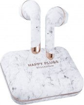 True Wireless sluchátka Happy Plugs Air 1 Plus, bílo šedá