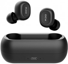True Wireless sluchátka QCY - T1C, černá