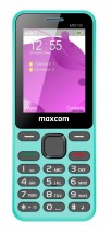 Tlačítkový telefon Maxcom Classic MM139 Banana, modrá