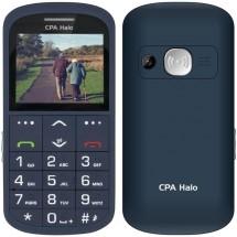 Tlačítkový telefon pro seniory CPA Halo 11 Pro, modrá Nejprodávanější