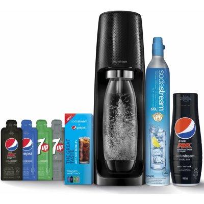 SodaStream Spirit Black Pepsi MegaPack